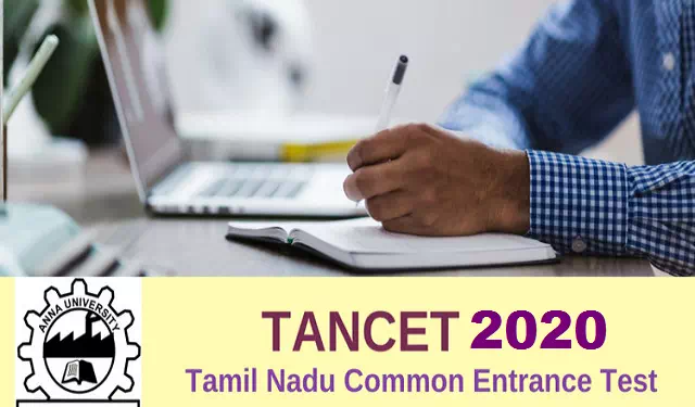 Tamil Nadu Common Entrance Test - TANCET 2020