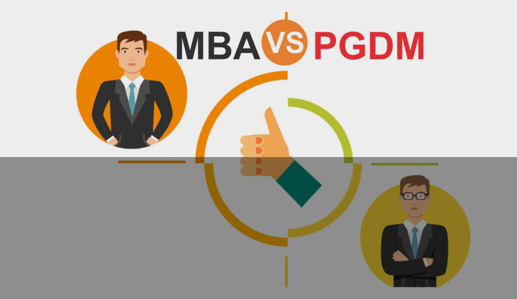What is the Difference between MBA and PGDM?